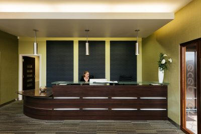 reception area burnley north