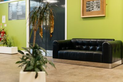 middlesbrough serviced office seating area