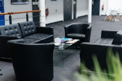 seating area teesside serviced office
