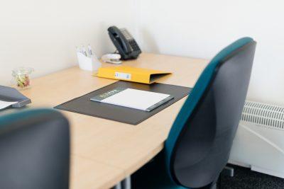 teesside close up of desk