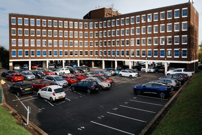 outside view of dudley serviced offices