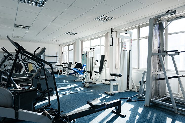 gym at hull serviced offices
