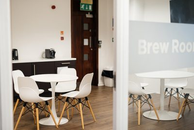 brew room at leeds serviced offices