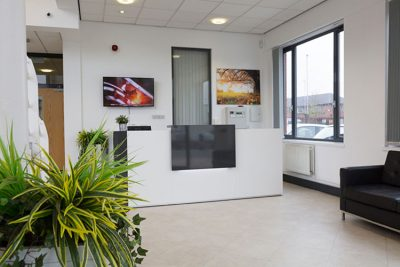 liverpool office reception area