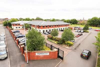 ariel view of manchester east serviced offices