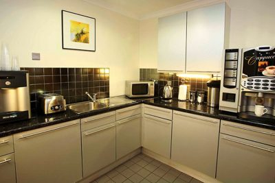 manchester east kitchen in serviced office space