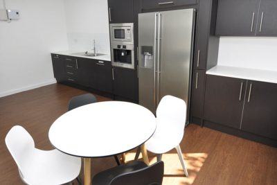 kitchen area in teesside serviced offices