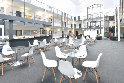 open plan seating area in tees valley serviced offices