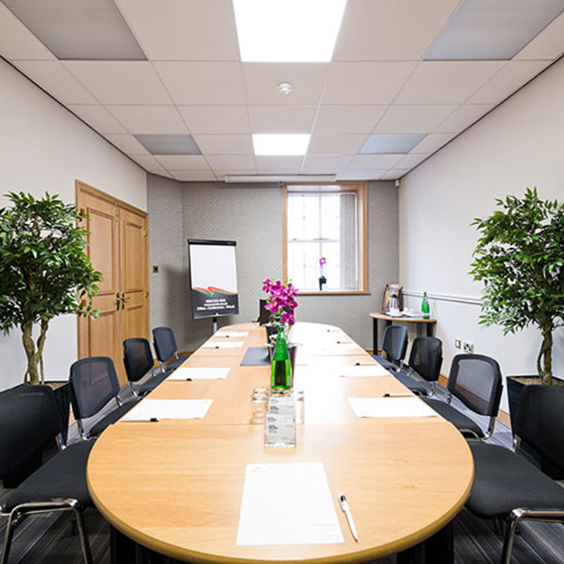 burnley central serviced office meeting room