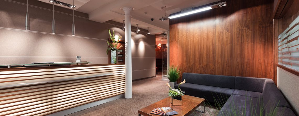 piccadilly house reception area