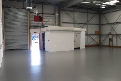 liverpool industrial unit inside view