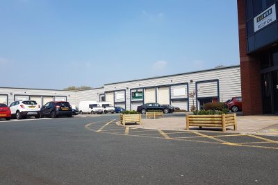 outside view of liverpool industrial units