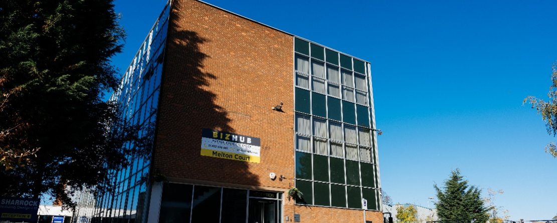 view of serviced offices in hull from outside